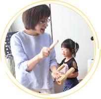 リトミック+知育風景